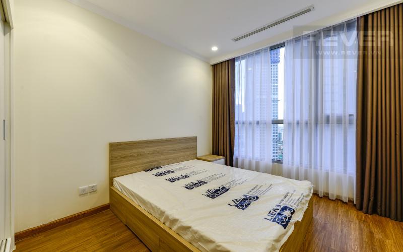 phòng ngủ 3 Căn hộ Vinhomes Central Park trung tầng Landmark 1 view nội khu