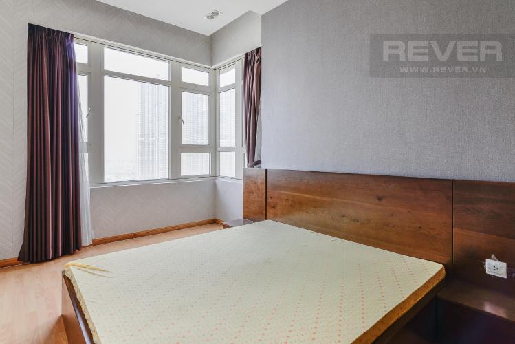 Phòng Ngủ 2 Căn hộ Sài Gòn Pearl 3 phòng ngủ tầng cao Saphire nội thất đầy đủ
