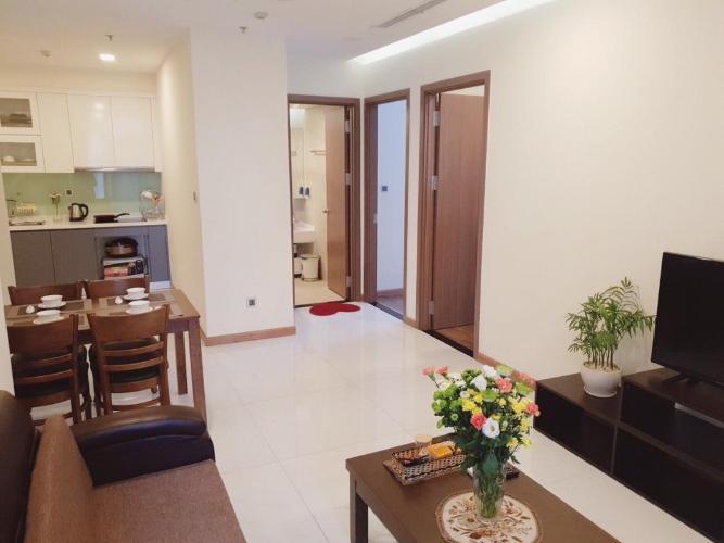 Cho thuê căn hộ Vinhomes Central Park 2PN, tháp Park 6, đầy đủ nội thất, view Landmark 81