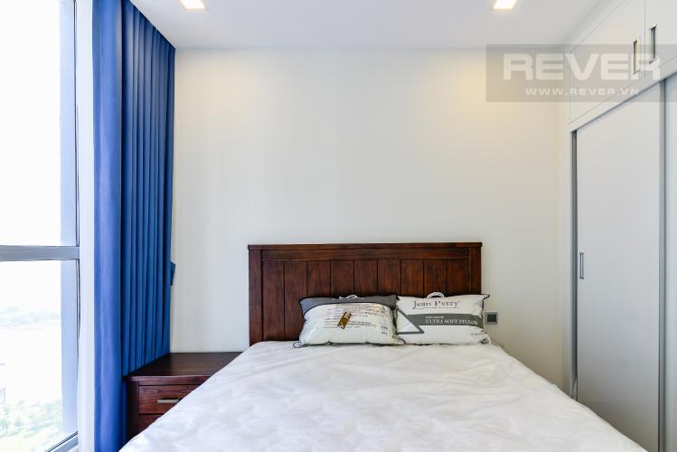 Phòng Ngủ 3 Căn hộ Vinhomes Central Park 3 phòng ngủ tầng cao P3 đầy đủ tiện nghi