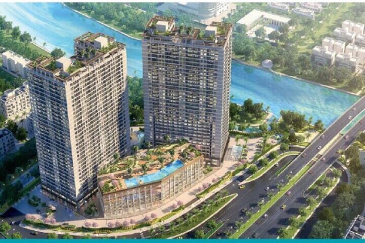 Bán căn hộLavida Plus Q7 tầng cao- Block B, diện tích 53.1m2, kết cấu 1 phòng ngủ, thiết kế hiện đại