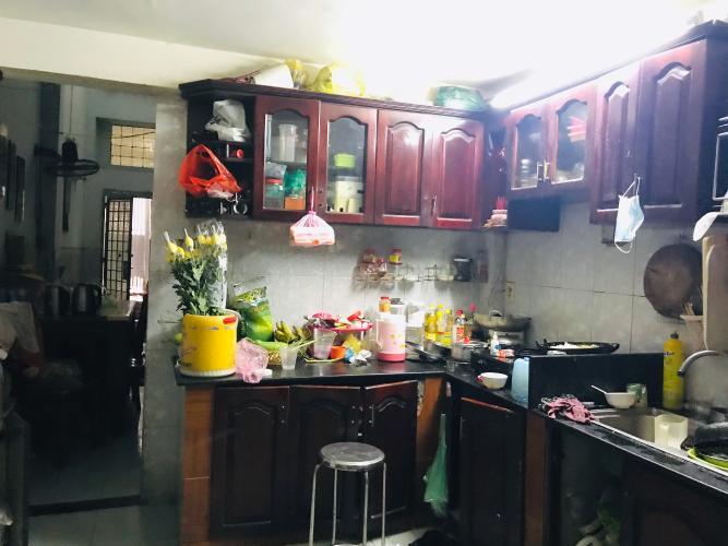 phòng bếp nhà phố quận 4 Nhà phố hẻm Đoàn Văn Bơ diện tích 3.14m x19.7m