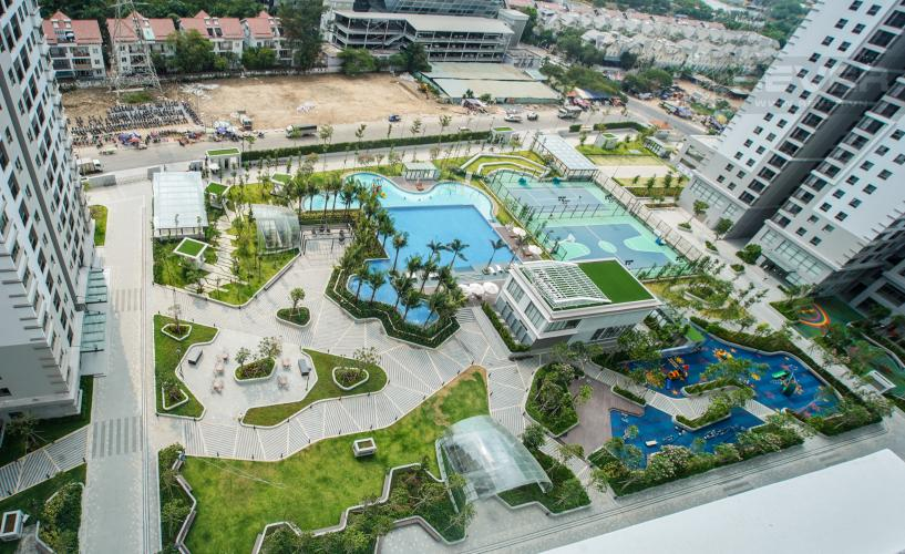 View căn hộ SAIGON SOUTH RESIDENCE Bán căn hộ Saigon South Residence 3PN, diện tích 104m2, view nội khu, căn góc, bàn giao thô