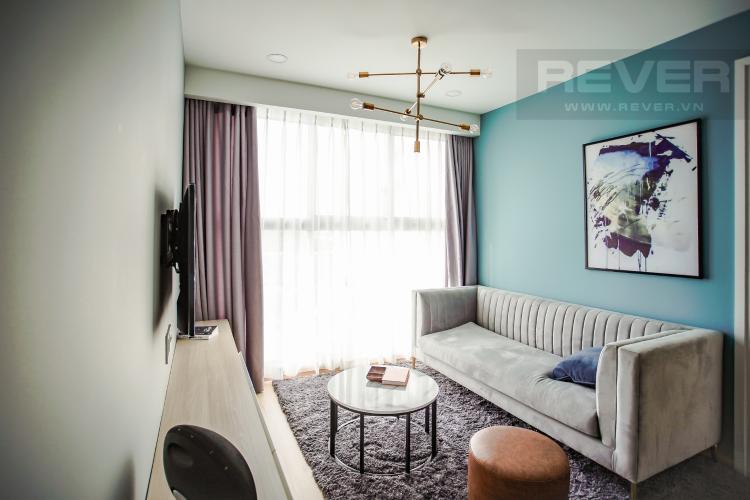 Phòng Khách Căn hộ Scenic Valley tầng thấp, 2PN đầy đủ nội thất, view hồ bơi