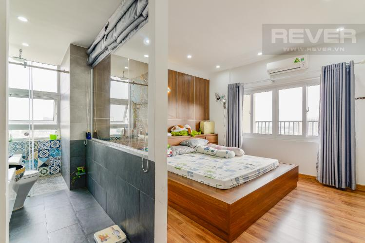 Phòng Ngủ 1 Penthouse Chung cư Bộ Công An 3 phòng ngủ tầng cao nội thất đầy đủ