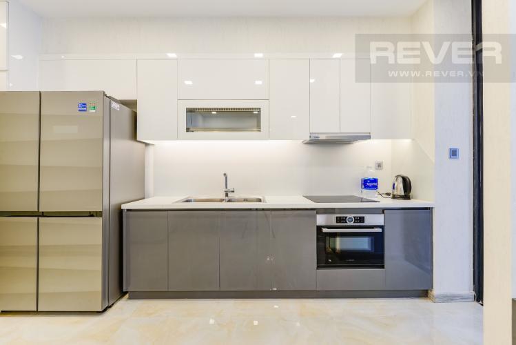 Bếp Căn hộ Vinhomes Golden River tầng cao, view đẹp, 2PN nội thất đầy đủ