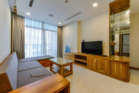 Căn hộ Vinhomes Central Park tầng cao tòa Park 6, 2 phòng ngủ, full nội thất