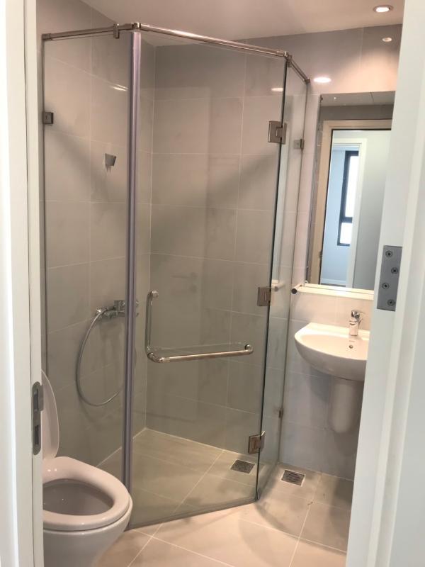 Phòng tắm Bán căn hộ Masteri An Phú 2PN, tháp B, nội thất cơ bản, view sông và Xa lộ Hà Nội