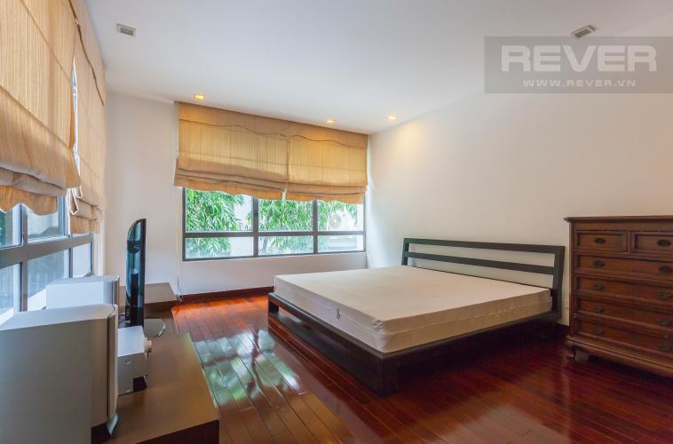 Phòng ngủ 1 Villa Compound Riviera Quận 2 thiết kế sang trọng, đầy đủ tiện nghi