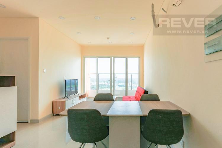 Phòng ăn căn hộ DRAGON HILL 2 Bán hoặc cho thuê căn hộ 2 phòng ngủ Dragon Hill 2, diện tích 75m2, đầy đủ nội thất, hướng ban công Tây Nam