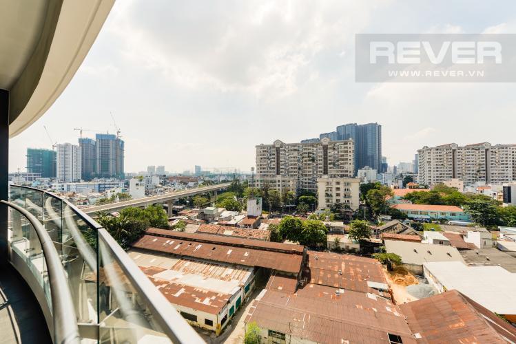 View Cho thuê căn hộ City Garden 1 phòng ngủ, diện tích 65m2, tầng trung view mát mẻ