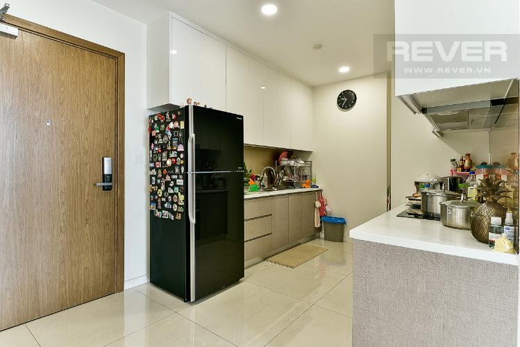 Bếp căn hộ MASTERI MILLENNIUM Bán căn hộ Masteri Millennium 2PN, tầng cao, đầy đủ nội thất, ban công hướng Nam