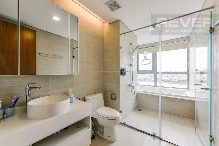 Phòng tắm 2 Căn hộ Vinhomes Central Park 4 phòng ngủ tầng trung P3 view trực diện sông