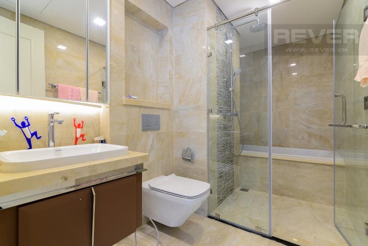 Phòng Tắm 1 Bán căn hộ Vinhomes Golden River 3PN, tầng cao, đầy đủ nội thất, view Thủ Thiêm và sông Sài Gòn