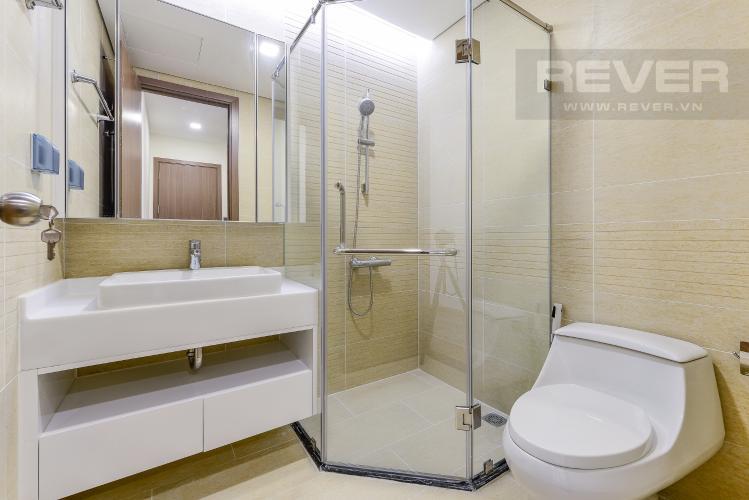 Phòng tắm 1 Căn hộ Vinhomes Central Park 2 phòng ngủ Park 2 nội thất cơ bản