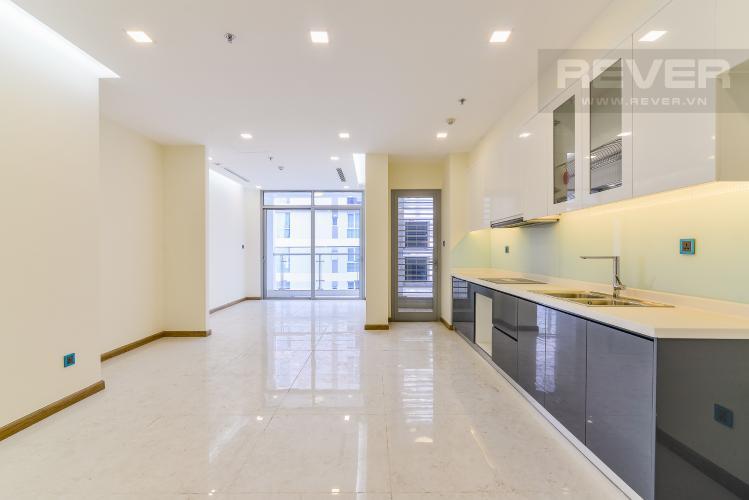 Phòng Khách Căn hộ Vinhomes Central Park tầng cao Park 4 nội thất cơ bản