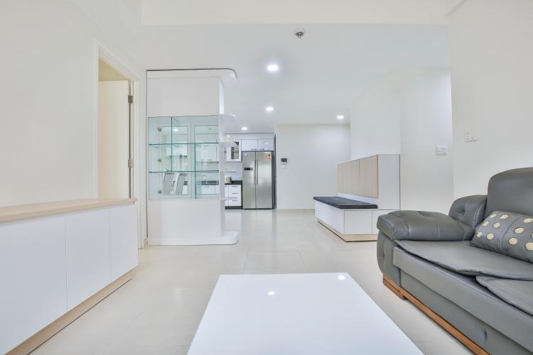 Phòng Khách Căn ghép Masteri Thảo Điền 4 phòng ngủ tầng cao tháp T1 đầy đủ nội thất