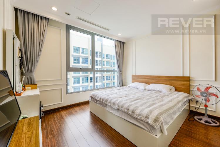 Phòng ngủ 1 Căn hộ Vinhomes Central Park tầng cao, 2PN đầy đủ nội thất, view đẹp