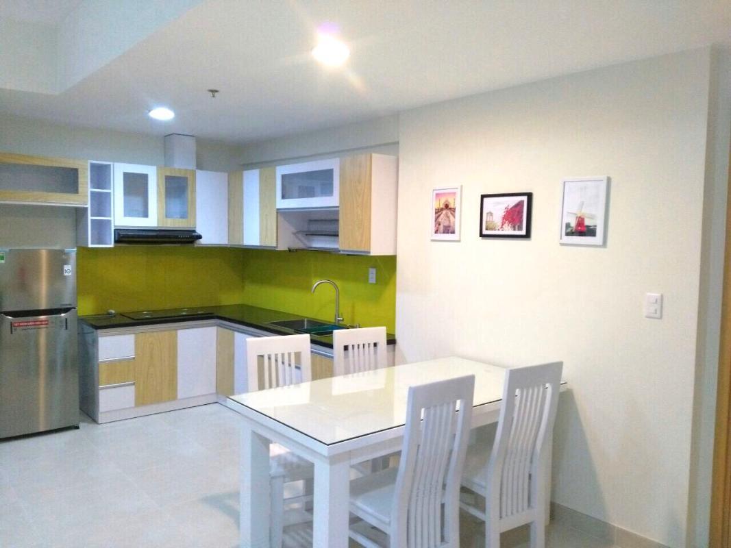 PHÒNG BẾP (2) Cho thuê căn hộ Masteri Thảo Điền 2PN, tháp T4, diện tích 65m2, đầy đủ nội thất