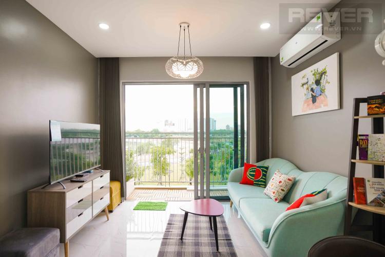 Cho thuê căn hộ Palm Heights 2PN, tháp T1, đầy đủ nội thất, view hồ cảnh quan và Landmark 81