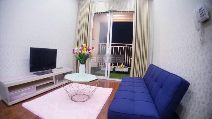 Phòng khách căn hộ The Botanica Căn hộ The Botanica nội thất đầy đủ, view thành phố sầm uất.