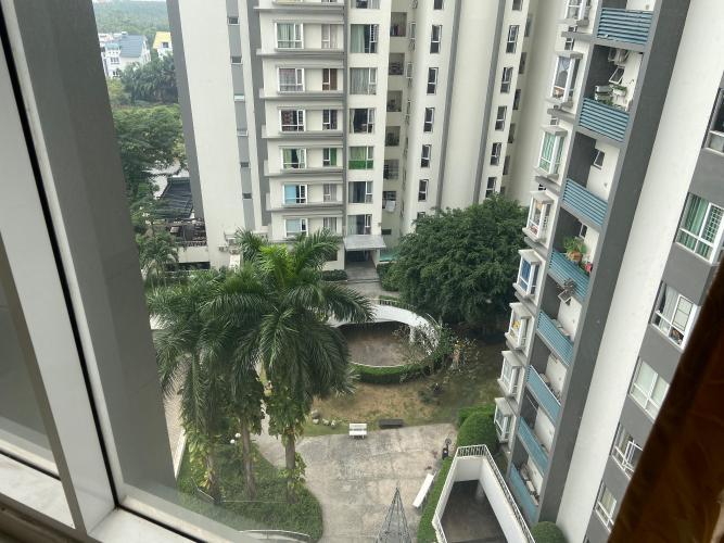 View Căn hộ Phú Mỹ tầng thấp, đầy đủ nội thất.