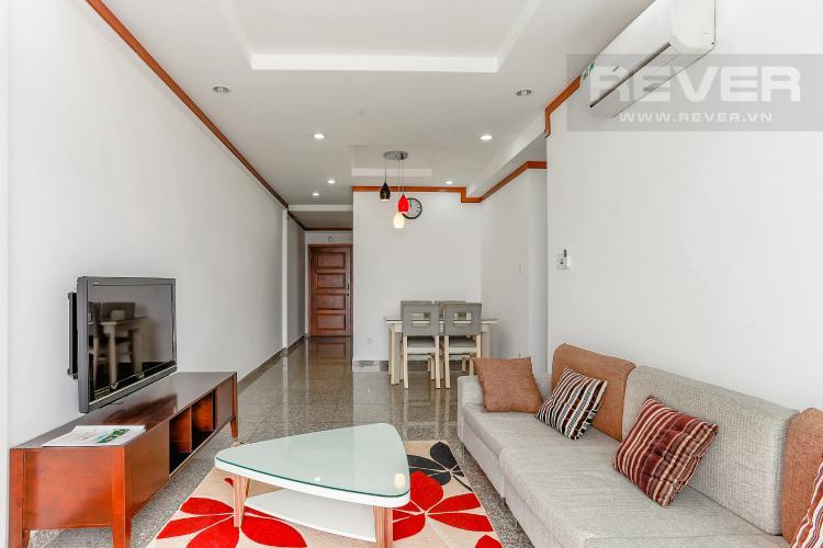 Phòng Khách Căn hộ Hoàng Anh Thanh Bình tầng thấp, Block B, 2 phòng ngủ, đầy đủ nội thất