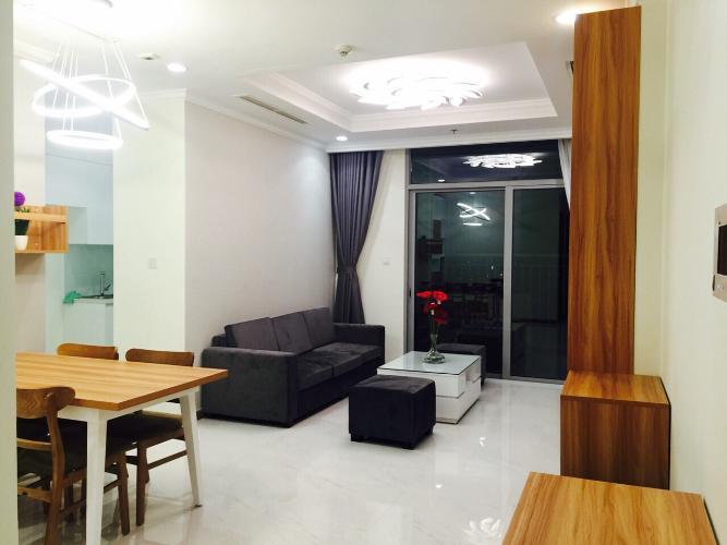 Cho thuê căn hộ 2 phòng ngủ Vinhomes Central Park, diện tích 87m2, thiết kế hiện đại, đầy đủ nội thất.