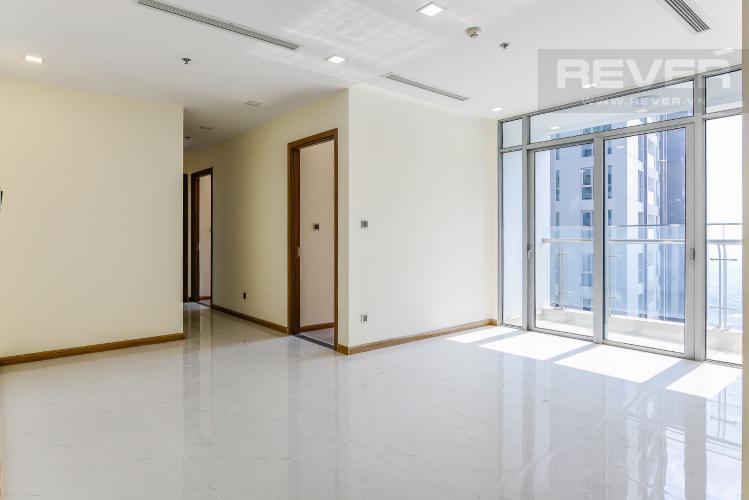 Phòng Khách Căn hộ Vinhomes Central Park tầng cao P7 thiết kế đẹp 3 phòng ngủ