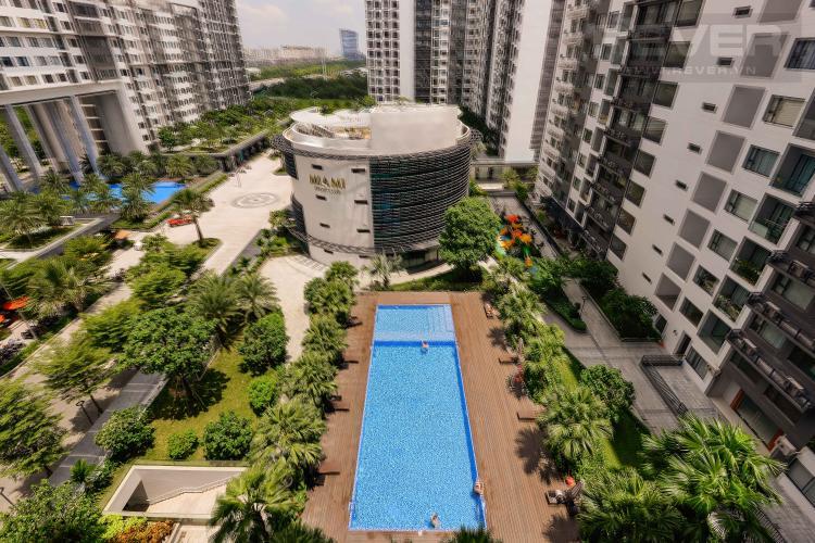 View Cho thuê căn hộ New City Thủ Thiêm 2PN, tháp Babylon, đầy đủ nội thất, view hồ bơi