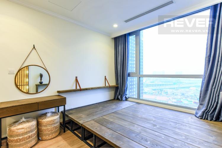 Phòng Ngủ 1 Căn hộ Vinhomes Central Park 3 phòng ngủ, tầng trung L3, nội thất đầy đủ
