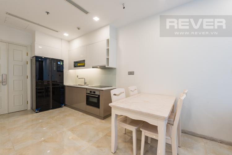 Bếp Căn officetel Vinhomes Golden River tầng cao, nội thất đầy đủ, cho thuê giá tốt