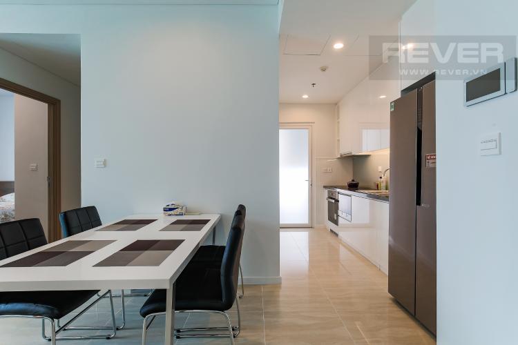 Phòng Bếp Cho thuê căn hộ Sadora Sala Đại Quang Minh 88m2, nội thất tiện nghi, view hồ bơi