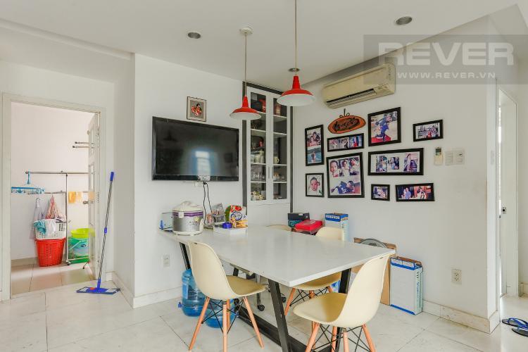 Phòng Ăn Căn hộ Duplex New Sài Gòn tầng cao tháp D1, 4 phòng ngủ, full nội thất
