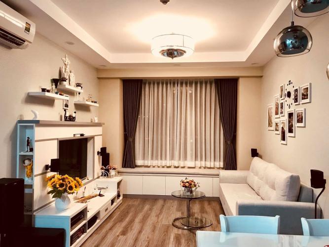 can-ho-THE-GOLD-VIEW Bán căn hộ The Gold View 2PN, đầy đủ nội thất, hướng ban công Đông Nam, view nội khu