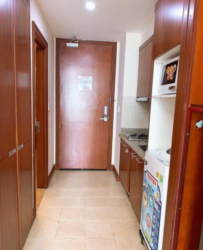 Phòng bêp , Căn hộ The Manor , Quận Bình Thạnh Căn hộ cao cấp The Manor tầng 17 thiết kế hiện đại kèm sàn gỗ.