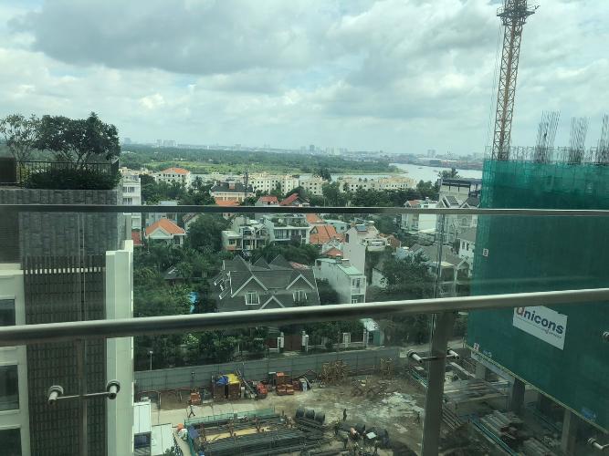 view cảnh căn hộ Gateway Thảo Điền Căn hộ Gateway Thảo Điền tầng trung, view thành phố sầm uất.