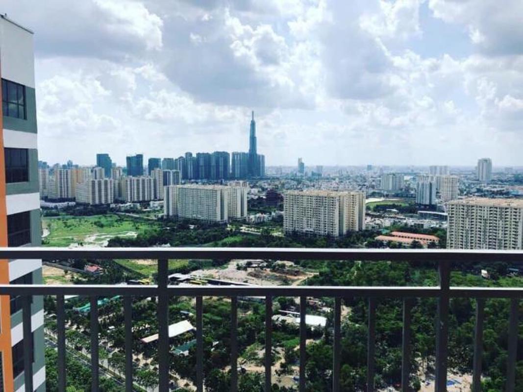 view Bán căn hộ The Sun Avenue 2PN, diện tích 73m2, không có nội thất, view Landmark 81