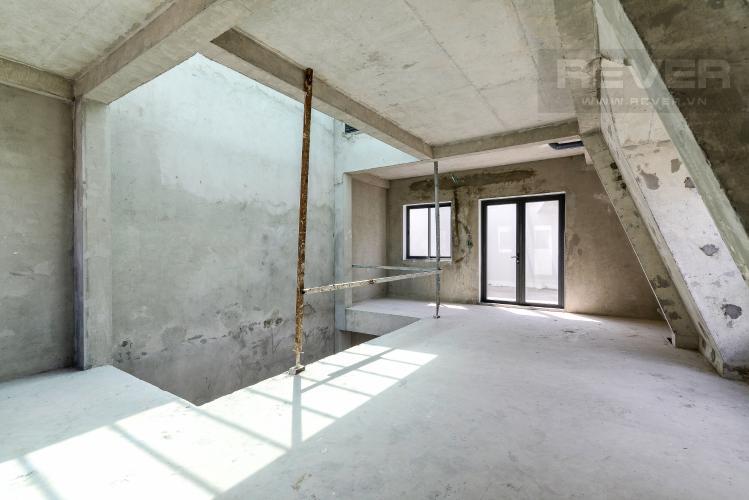 Tầng 1 Bán nhà phố Lakeview City 3PN 3WC, nhà trống không có nội thất, view khu đô thị