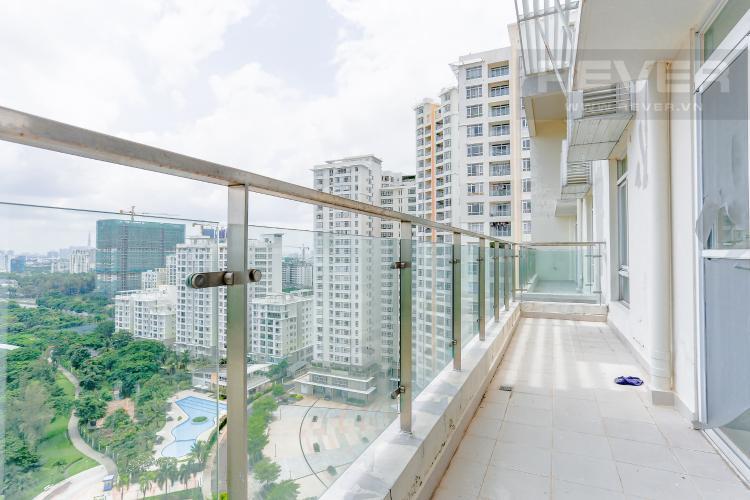 Ban Công Tầng Trệt Bán penthouse Riverside Residence Quận 7, view sông, nhiều tiện ích