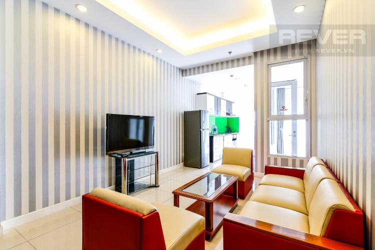 Phòng Khách Căn hộ Prince Residence 2 phòng ngủ tầng trung P1 nội thất đầy đủ
