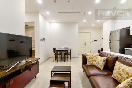 Cho thuê căn hộ Vinhomes Golden River 2PN, diện tích 73m2, đầy đủ nội thất, view thành phố rộng thoáng
