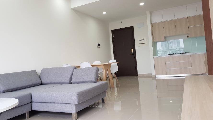 phòng khách căn hộ Sunrise Riverside Cho thuê căn hộ Sunrise Riverside thiết kế hiện đại, nội thất nổi bật.