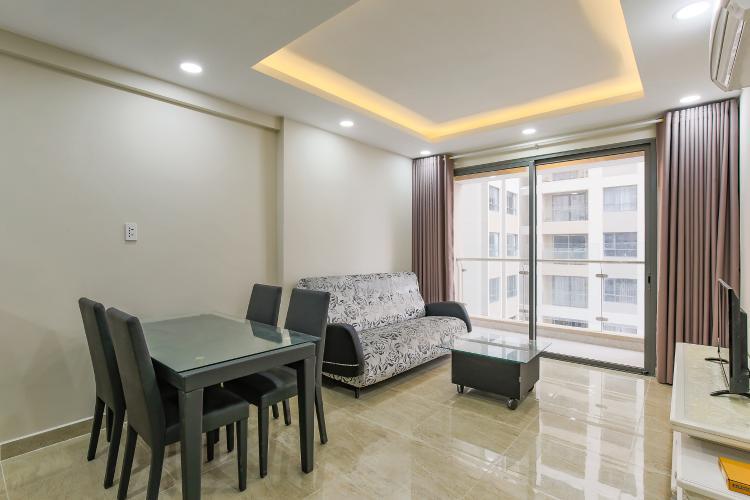 Căn hộ The Gold View tầng trung tòa A2, 2 phòng ngủ, nội thất đầy đủ