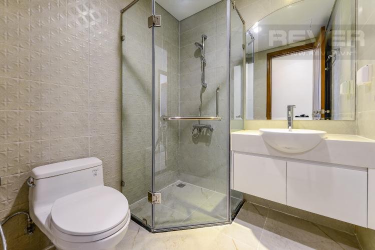 Phòng tắm 1 Căn hộ Vinhomes Central Park 2 phòng ngủ tầng cao L4 không nội thất