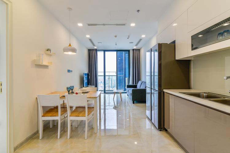 Cho thuê căn hộ Vinhomes Golden River tầng cao 1PN đầy đủ nội thất