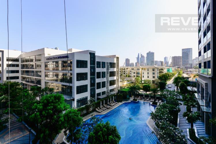 View Bán căn hộ Vinhomes Golden River 72m2, 2PN 2WC, view hồ bơi nội khu