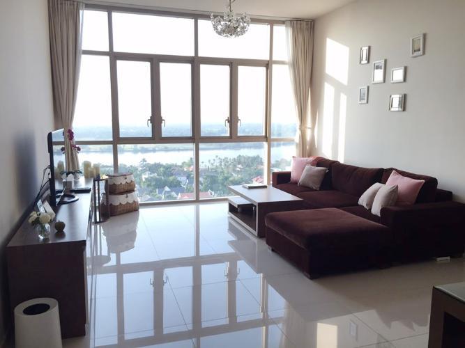 Cho thuê căn hộ The Vista An Phú 3PN, tháp T3, đầy đủ nội thất, view sông thoáng mát