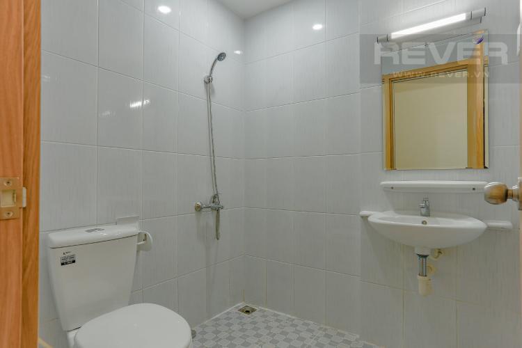 Phòng Tắm 1 Căn hộ Jamona City nằm ở tầng cao, tháp M1, 71m2, 2 phòng ngủ, view sông.