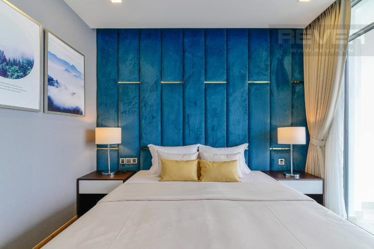 Phòng Ngủ 4 Căn góc Vinhomes Central Park 4 phòng ngủ tầng cao P2 full nội thất